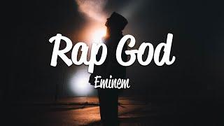 Eminem - Rap God (Lyrics)