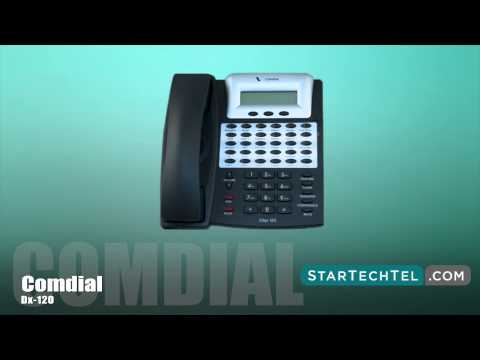 How To Change The Extension Password On The Comdial DX-120 Phone