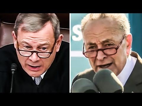 Chief Justice John Roberts Reminds Everyone He's A Partisan Hack from YouTube · Duration:  3 minutes 57 seconds