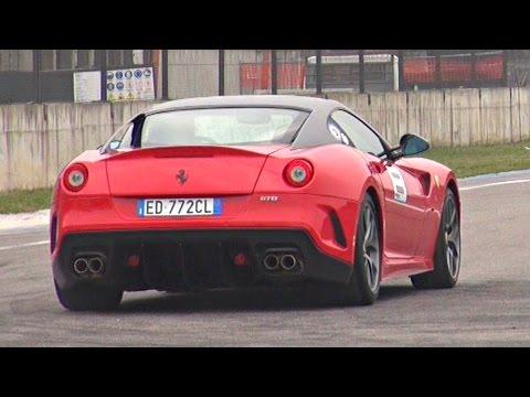 Ferrari 599 GTO Godly V12 Engine Sound! Turn Up Your Speakers!