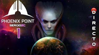 PHOENIX POINT #1 MODO HÉROE - Primer contacto / Impresiones DIRECTO Gameplay Español