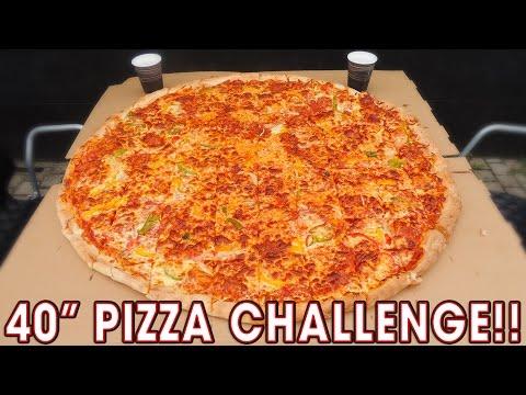 "SCOTLAND'S BIGGEST 40"" PIZZA CHALLENGE!!"