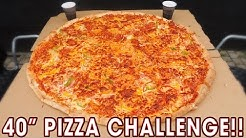 "SCOTLAND'S BIGGEST 40"" PIZZA CHALLENGE!!"
