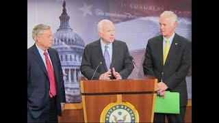 Senators Promise 'No' Vote on 'Skinny Bill'