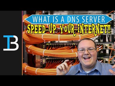 What Is A DNS Server & How Can It Speed Up Your Internet?!?