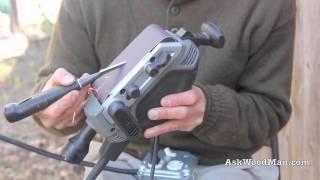 Grinding Chisels On A Belt Sander • Complete Sharpening Series Video 5