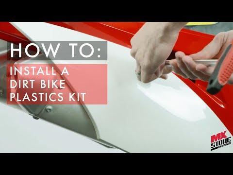 MXstore Guide | How to Install a Dirt Bike Plastics Kit