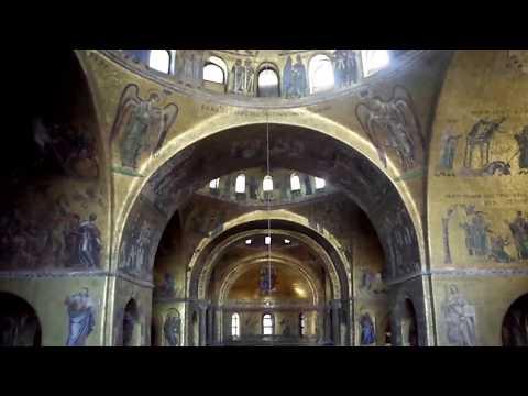 Inside St Mark's Basilica, Venice