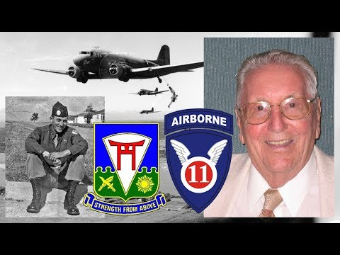 1LT Andrew Carrico, III - 511th Parachute Infantry Regiment, 11th Airborne Division - Int. #3