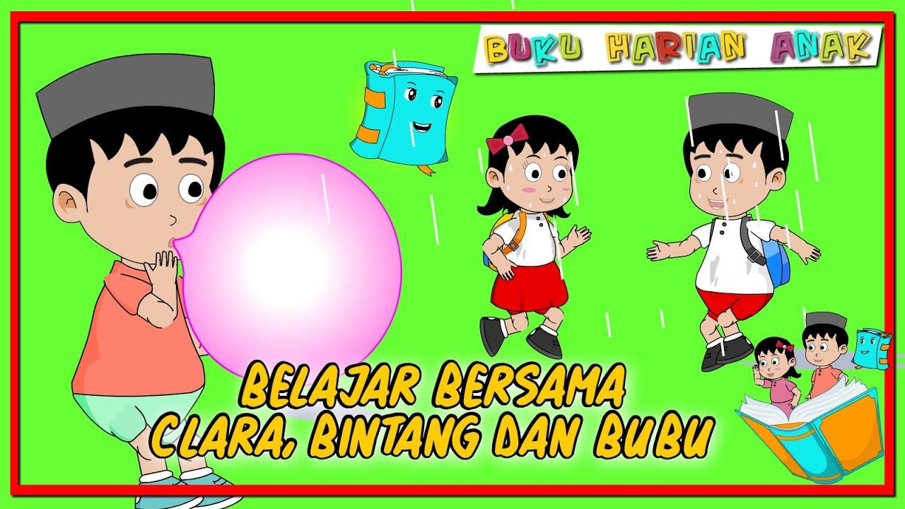 Buku Harian Anak Kompilasi 12 - Belajar dan Bermain - Buku Harian Anak - ClaraBintang-