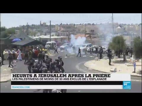 """Tensions à Jérusalem - """"L'Esplanade des Mosquées est devenu l''épicentre du conflit"""""""