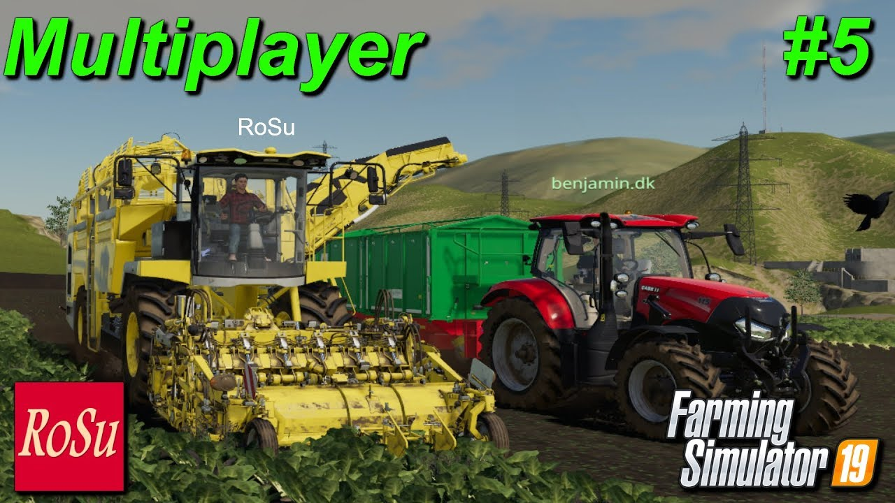 farming simulator 2019 how to play multiplayer whitout lag