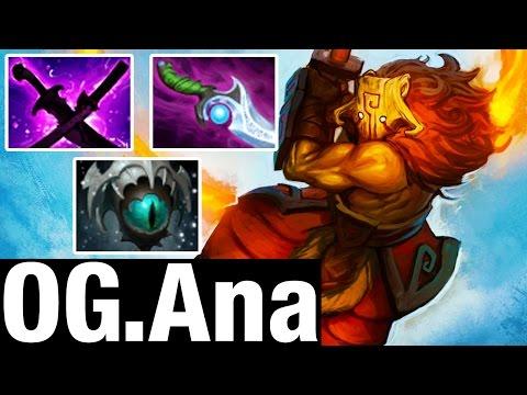 SLOW BUILD - OG.Ana Plays Juggernaut - Dota 2