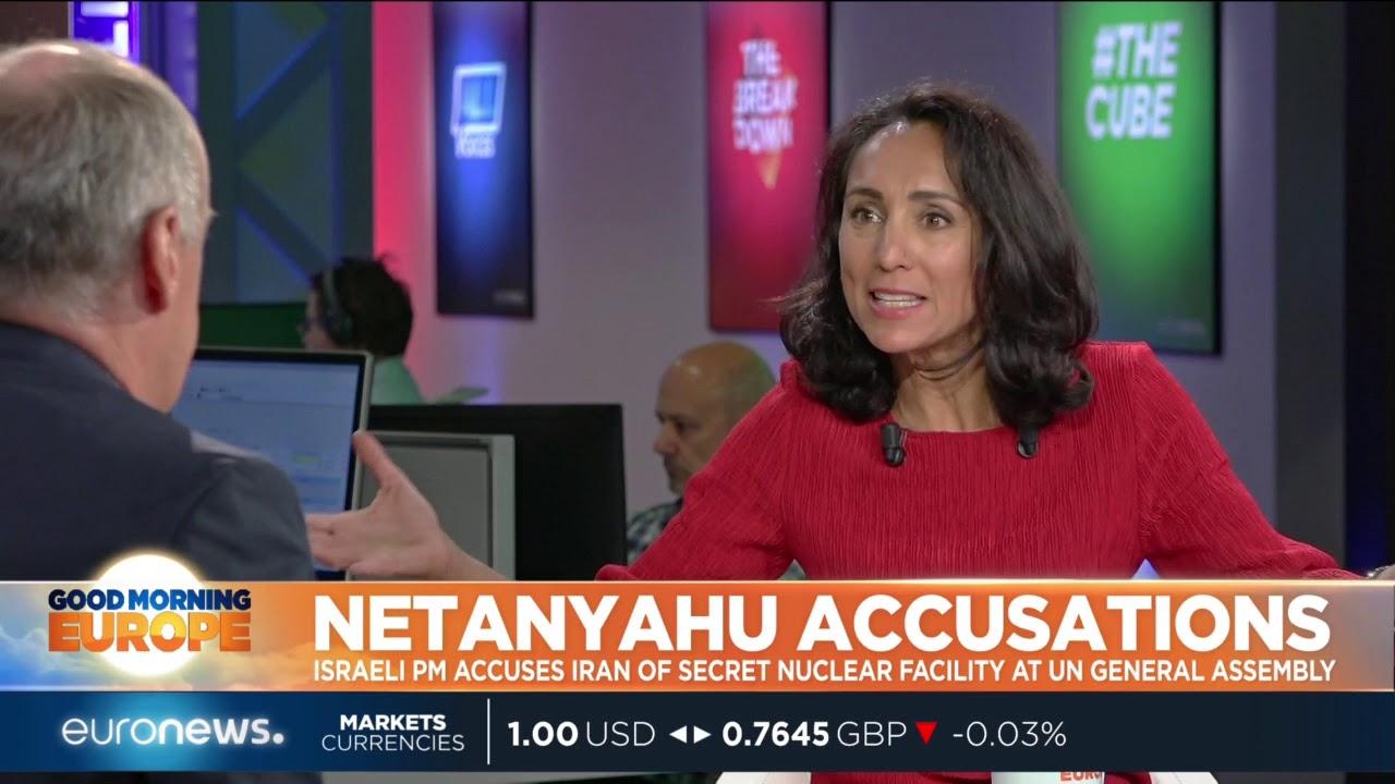 Israeli PM Netanyahu accuses Iran of secret nuclear facility at UNGA