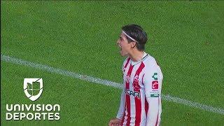¡Penal y gol de Necaxa! Víctor Dávila le quita el invicto a Cruz Azul