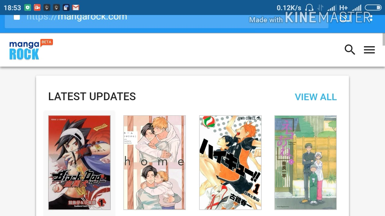 4 sites to read manga one page one chapter