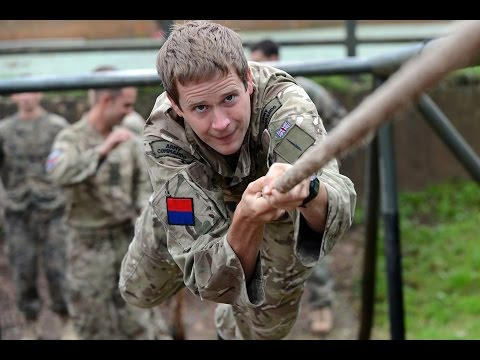 British Royal Marines Commandos training with US Marines - O