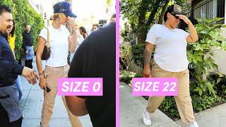 Plus Size People Wear Model OffDuty Looks For A Week