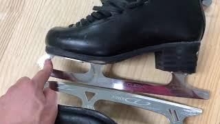 제가 신는 스케이트입니다 (싱글 스케이팅과 아이스 댄스…