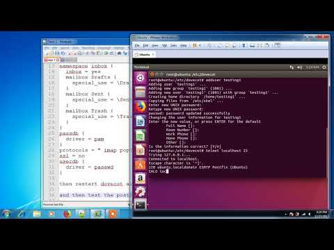 Linux Email Server In Ubuntu Using Thunderbird As Client