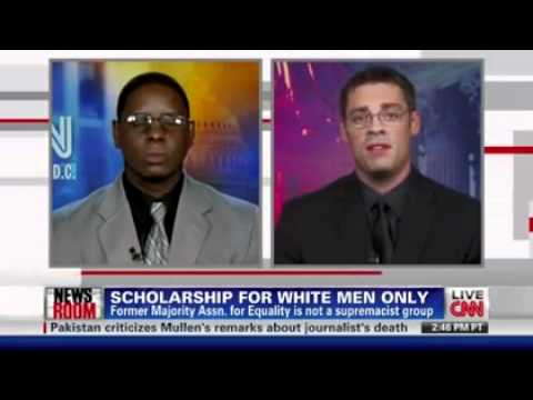 SCHOLARSHIP FOR WHITE ONLY AND THE VP IS BLACK