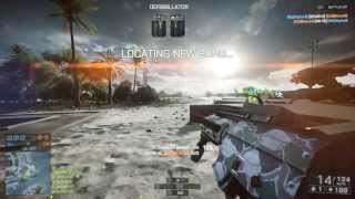 Battlefield 4 - Duże problemy z beta na PC (Gameplay Obliteration at Paracel Storm)