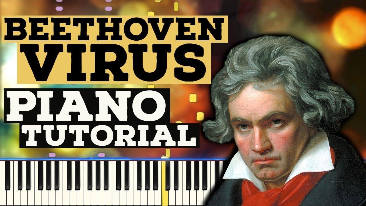 Beethoven Virus Piano Tutorial Sheet Music Youtube