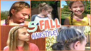 D I Y  Quick and Easy Fall Hairstyles! Thumbnail
