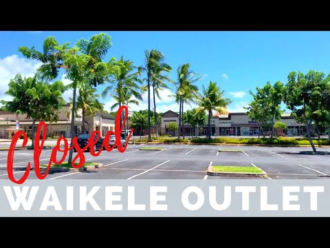empty-outlet-mall-waikele-||-hawaii-back-on-stay-at-home-order