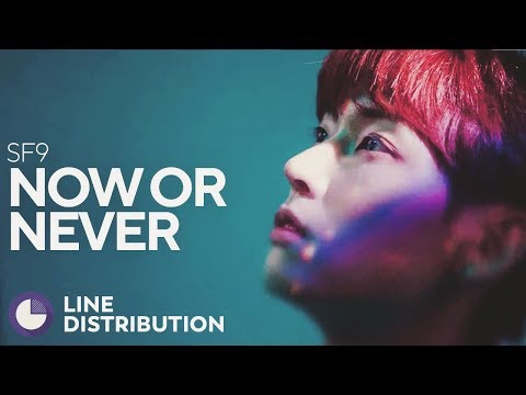 SF9 - Now or Never (Line Distribution)