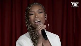 @4everbrandy performs for 2020 Census Concerts That Matter