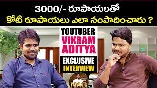 How to Make 1 Crore by Investing 3000 by Vikram Aditya | Youtuber Vikram Aditya Latest Interview