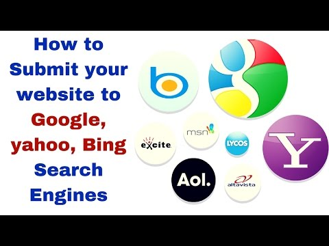 Search Engine Submission   How to Submit your website to Google, Bing Search Engines
