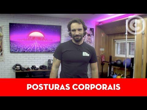 Aula sobre Postura Corporal   Com Bruno Salgueiro   Academia Continente