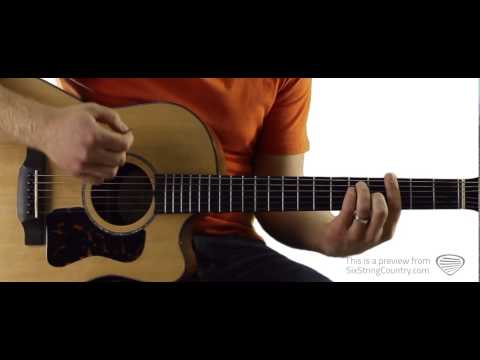 Feelin' It - Guitar Lesson and Tutorial - Scotty McCreery