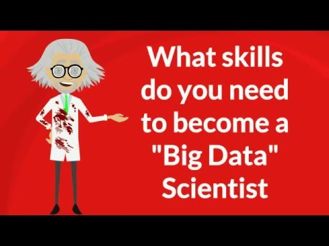 What Skills Do You Need To Become Big Data Scientist