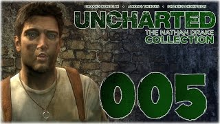 Let´s play Uncharted: The Nathan Drake Collection #005 (Uncharted 1) [Deutsch] [Facecam] [Full-HD]