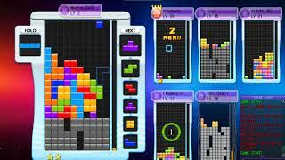 【Tetris】Tetris Online : 怎麼好多人都在疊combo塔呢  (9/17)