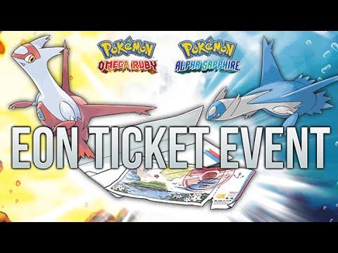 Pokemon ORAS : How To Get Eon Ticket Event