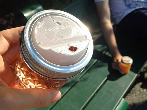 Cuppow | To-Go Lid for Mason Jars