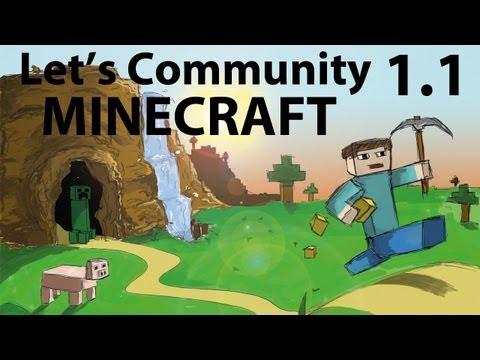 Let's Community Minecraft S01E01 [Deutsch] [HD] - Festungsbau