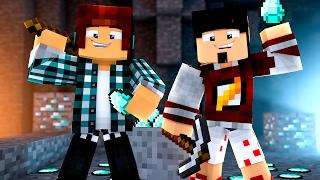 Minecraft Origem #03 - DIAMANTES !!