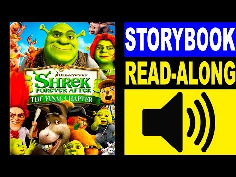 Shrek 4 Read Along Story book | Read Aloud Story Books for Kids | Kids Story Books