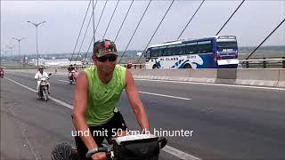 Sraßen und Verkehr - Cycling tour Saigon - Phnom Penh - Bangkok