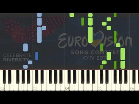 Eurovision Song Contest Hymn Te Deum Piano Tutorial