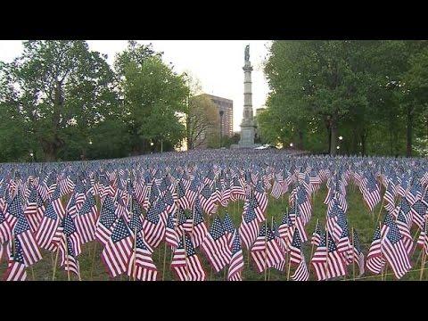 Boston Common Flag Garden Call For Volunteers