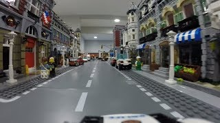 Driving Through a Huge LEGO City