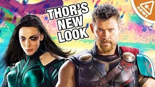 What Thor's New Look Means for Ragnarok! (Nerdist News w/ Jessica Chobot)