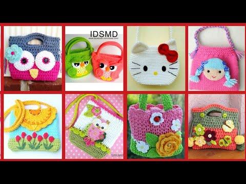 top-30-beautiful-crochet-hand-bags-for-little-girls-|-crochet-handbags-|-handmade-crochet-bags