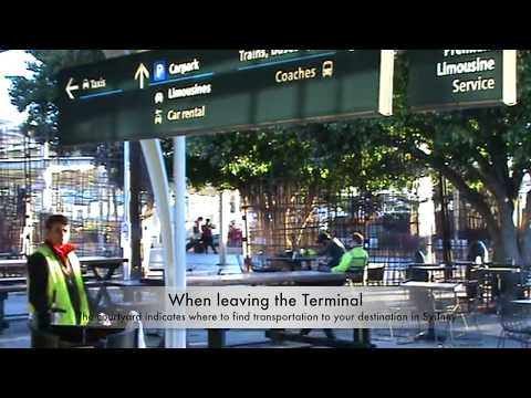 International Arrivals Terminal At Sydney Airport  (What It Looks Like After Leaving Customs)
